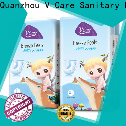V-Care hot sale best newborn baby nappies supply for sale