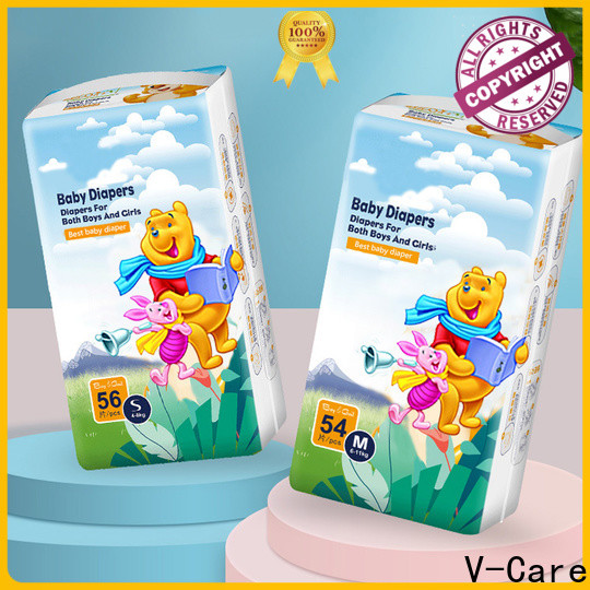 V-Care latest baby diaper pants factory for children