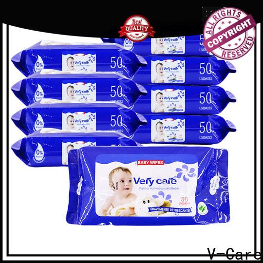 V-Care new custom wet wipes factory for baby