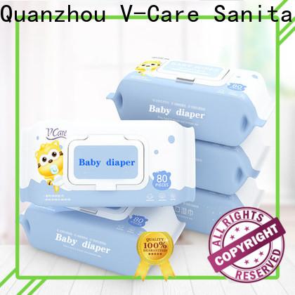 V-Care oem bulk wet wipes factory for women