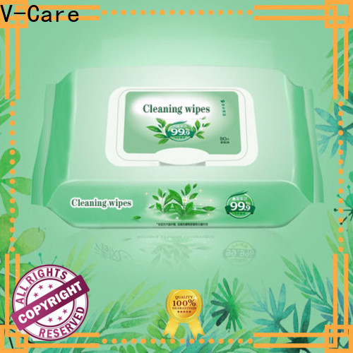 V-Care cleaning wet wipes company for women