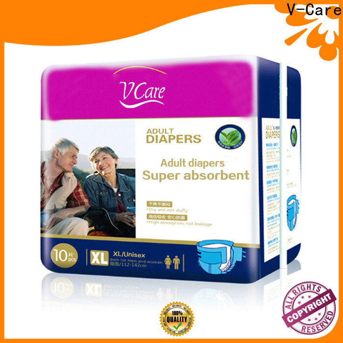 V-Care adult disposable diapers with custom services for women