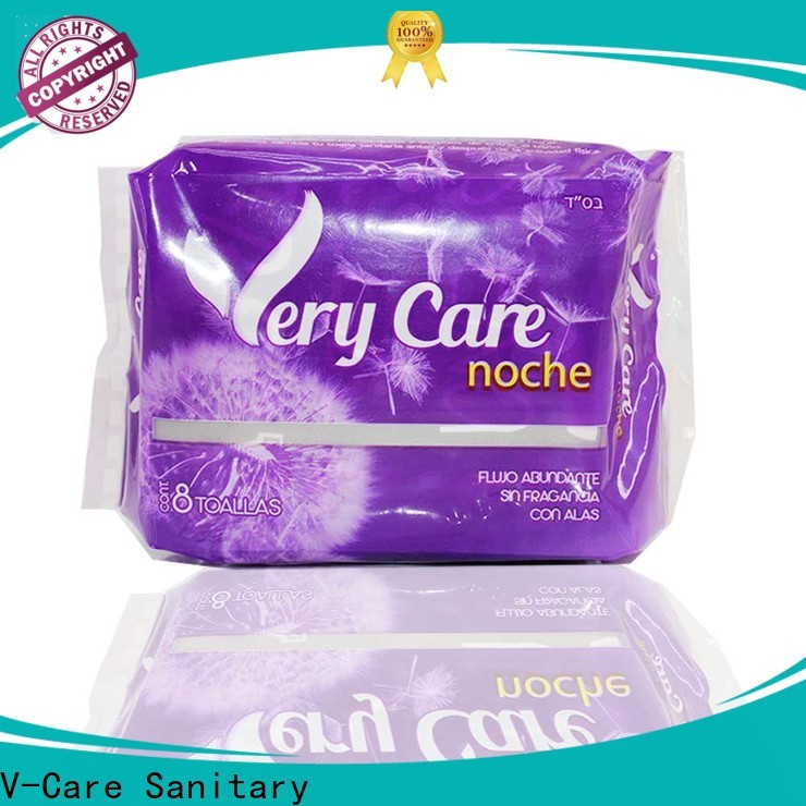 V-Care custom best sanitary towels with custom services for ladies