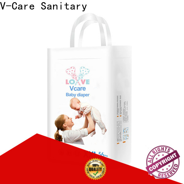V-Care professional newborn disposable nappies suppliers for infant