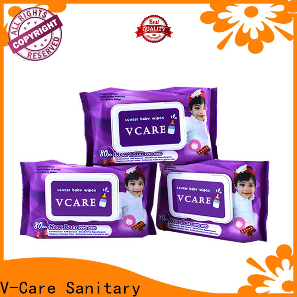 V-Care top wipe tissue company for baby
