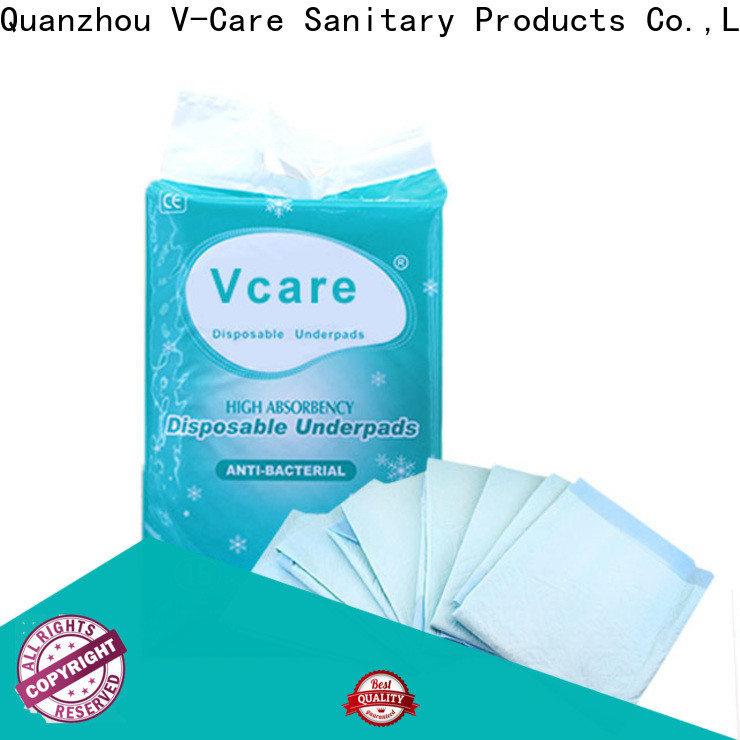 V-Care new disposable underpads for business for sale