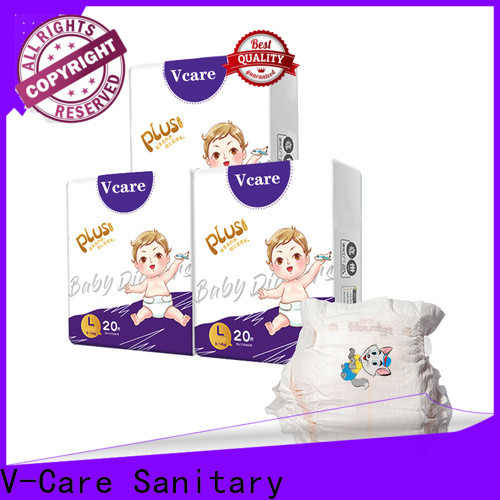 V-Care superior quality best baby diapers factory for sleeping