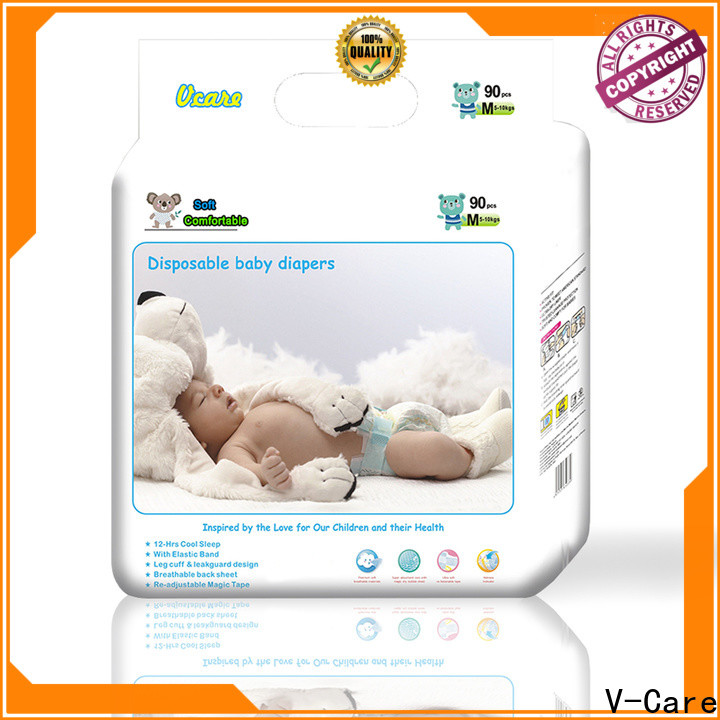 V-Care latest disposable baby nappies supply for sale