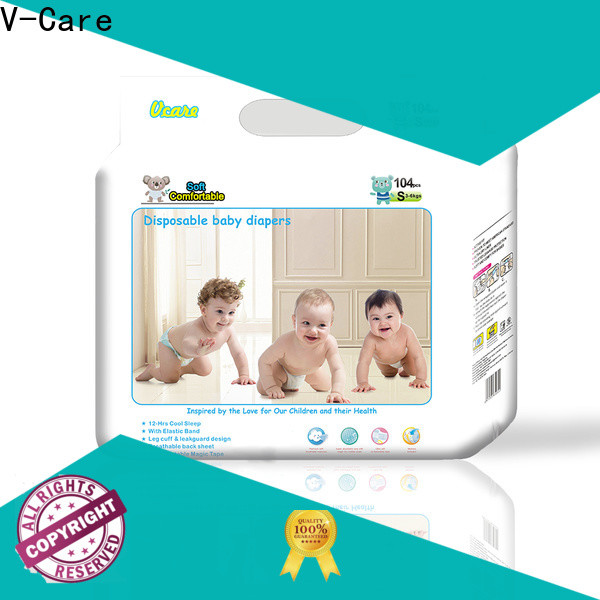 V-Care hot sale baby nappies supply for baby