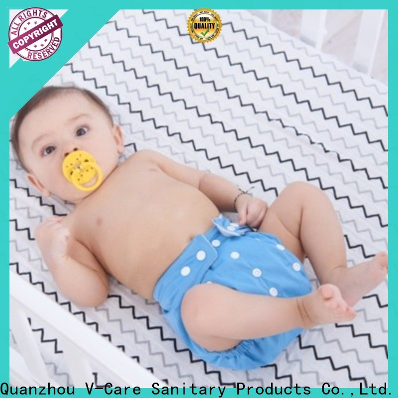 V-Care professional newborn disposable nappies company for sleeping