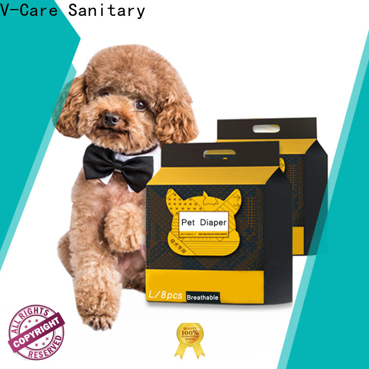 V-Care latest pet sanitary pads supply for dogs