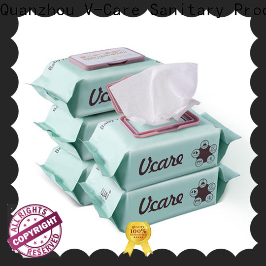 V-Care wholesale wet wipes wholesale factory for baby