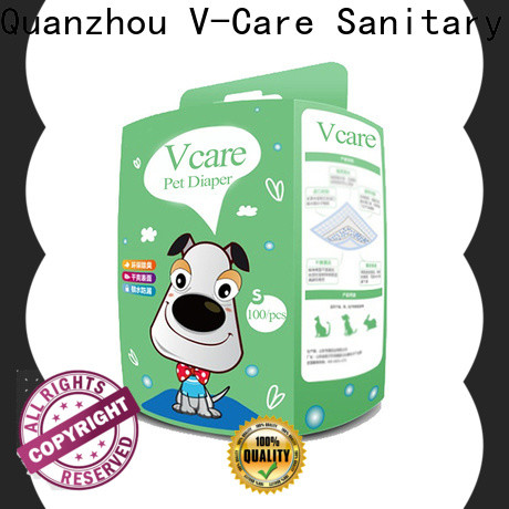 V-Care custom disposable pet diapers supply for sale