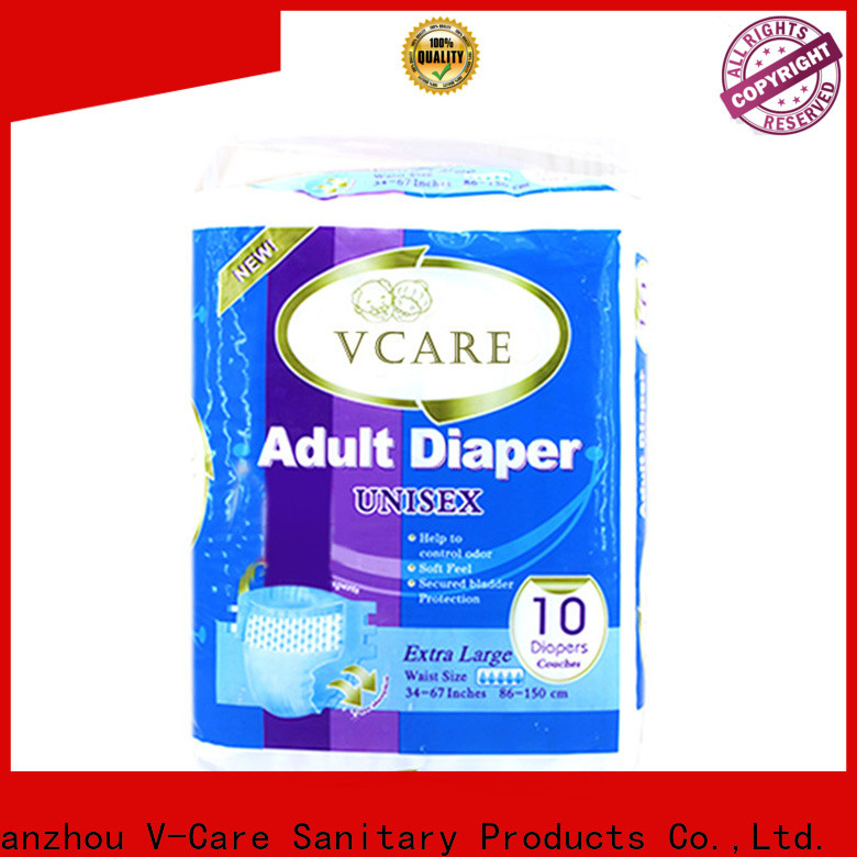 V-Care top rated adult diapers manufacturers for men