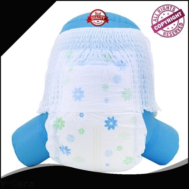 V-Care breathable cheap infant diapers for business for baby