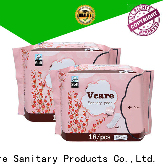 V-Care wholesale the best sanitary napkin factory for sale