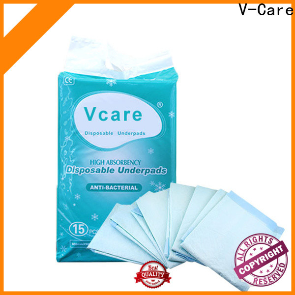 V-Care disposable underpads for business for nursing