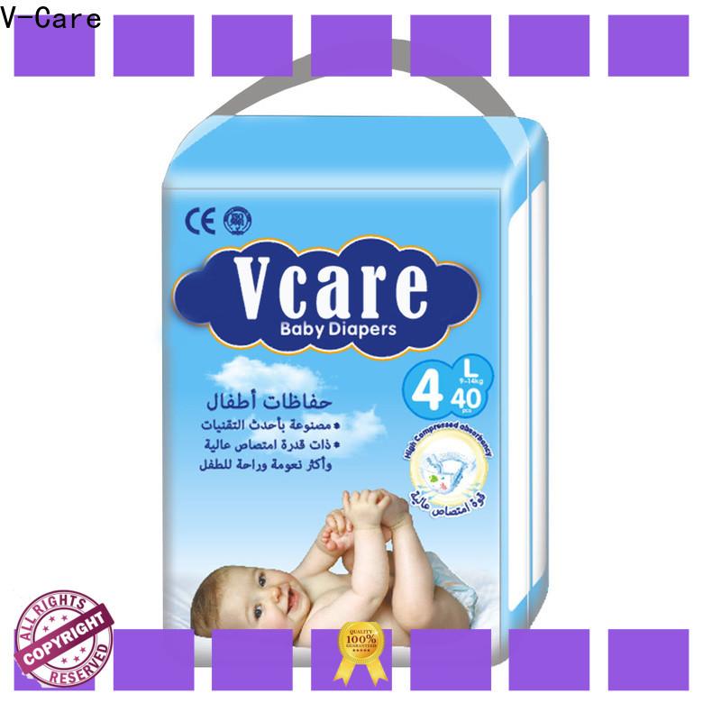 V-Care custom baby pull up diapers factory for children