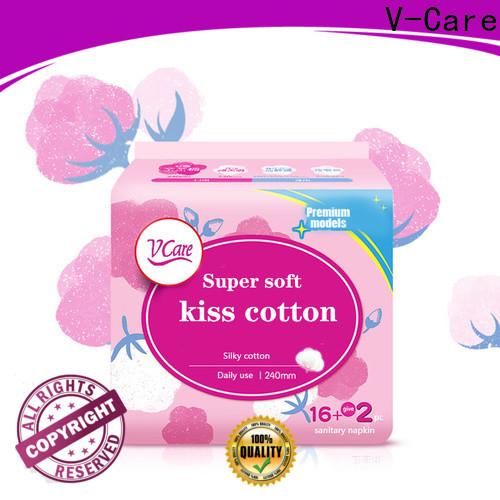 V-Care night good sanitary napkins factory for sale