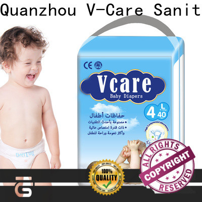 V-Care born baby diaper manufacturers for sleeping