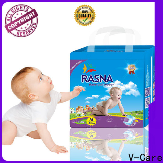 V-Care infant nappies factory for baby