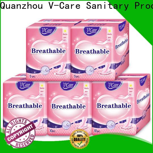 V-Care sanitary napkin pants factory for sale