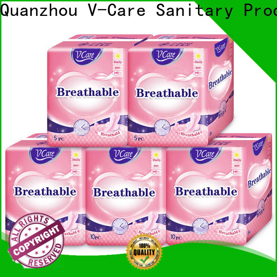 V-Care sanitary napkin pants factory for sale