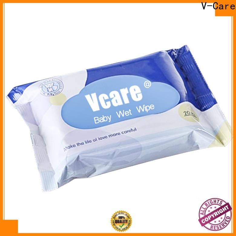 V-Care wet tissue paper factory for women