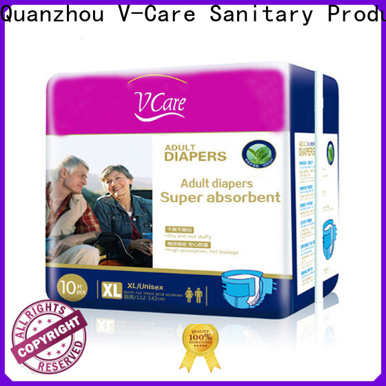 V-Care fast delivery best adult nappies for business for men