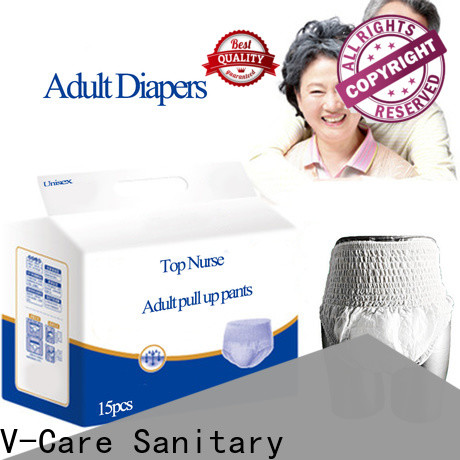 V-Care absorbency adult pull ups factory for adult
