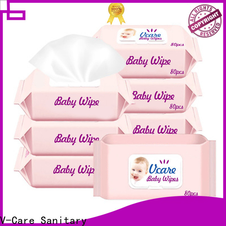 V-Care latest wet wipes wholesale supply for women