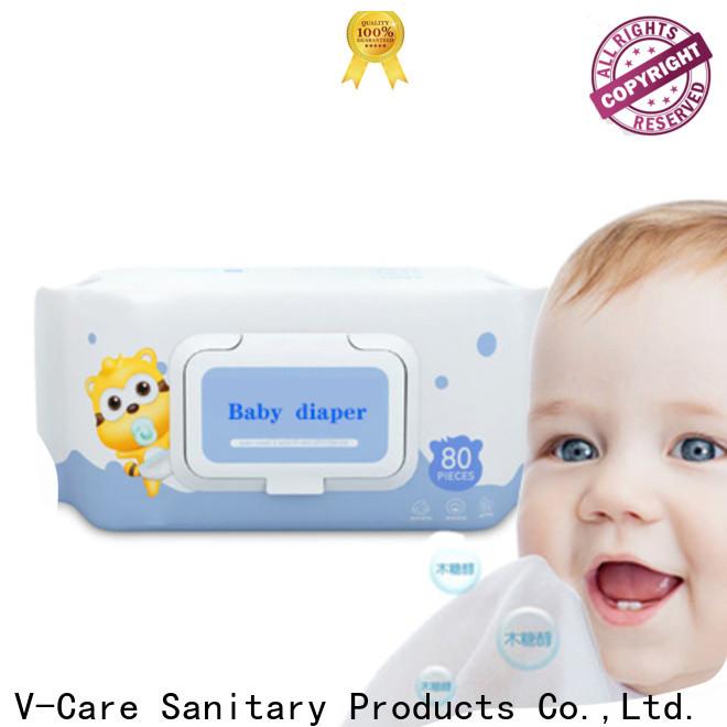 V-Care top wipe tissue supply for women