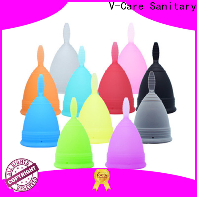 V-Care top menstrual cup supply for sale