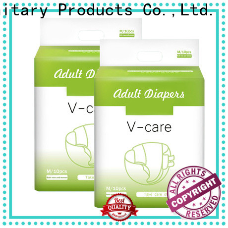 V-Care fast delivery top adult diapers manufacturers for women