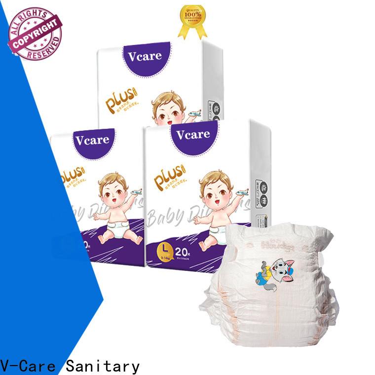 V-Care wholesale cheap infant diapers factory for baby