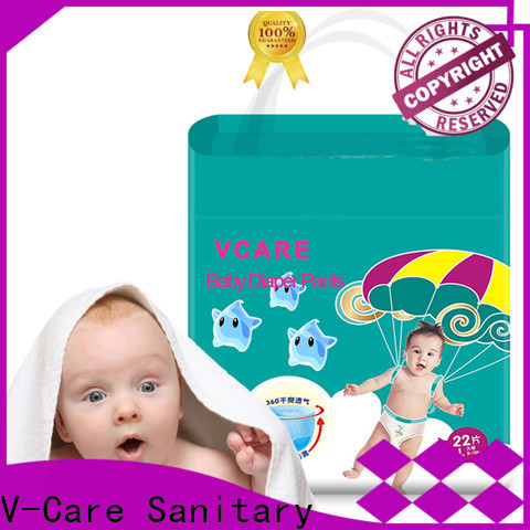 V-Care baby nappies company for sale
