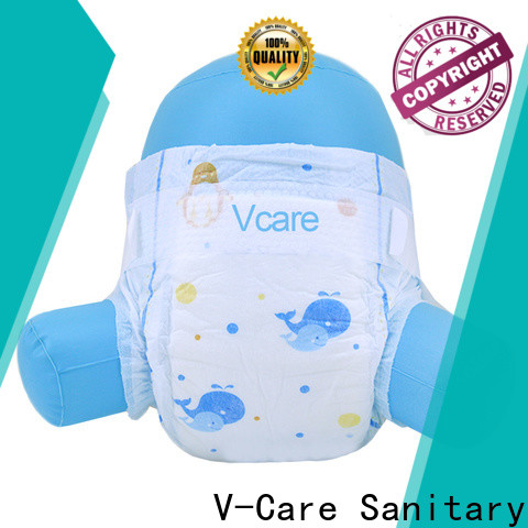 V-Care disposable baby diapers factory for baby