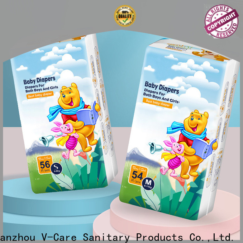 V-Care baby pull up diapers factory for business