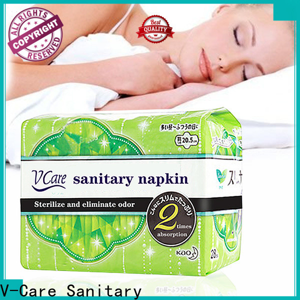 V-Care good sanitary pads with custom services for ladies