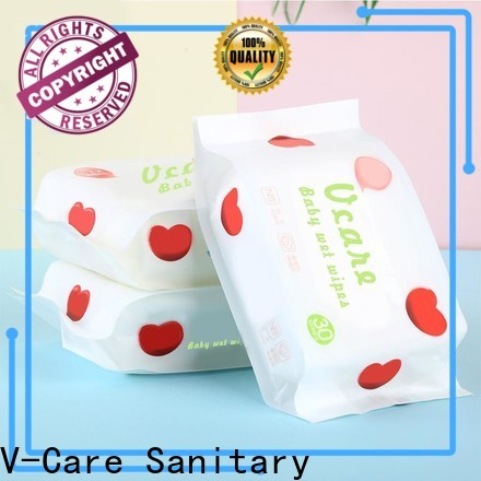 V-Care cheap wet wipes suppliers for adult