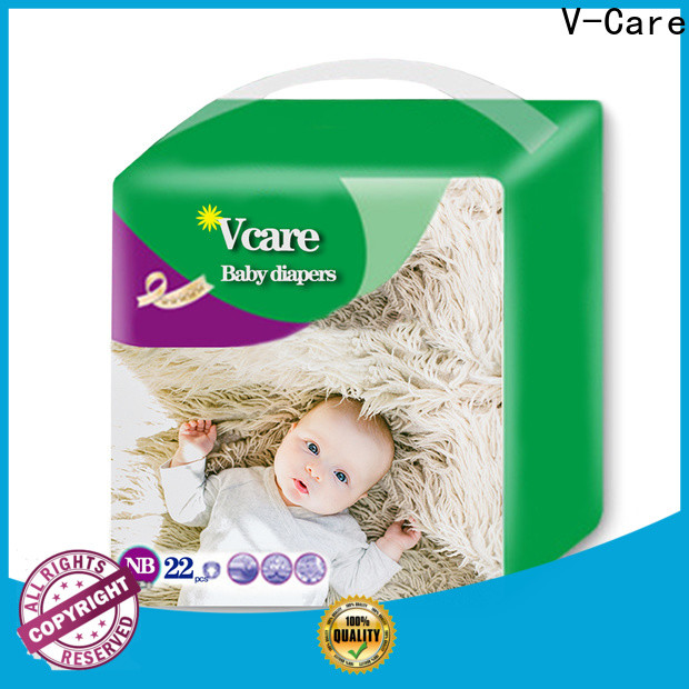 V-Care hot sale good baby nappies suppliers for infant