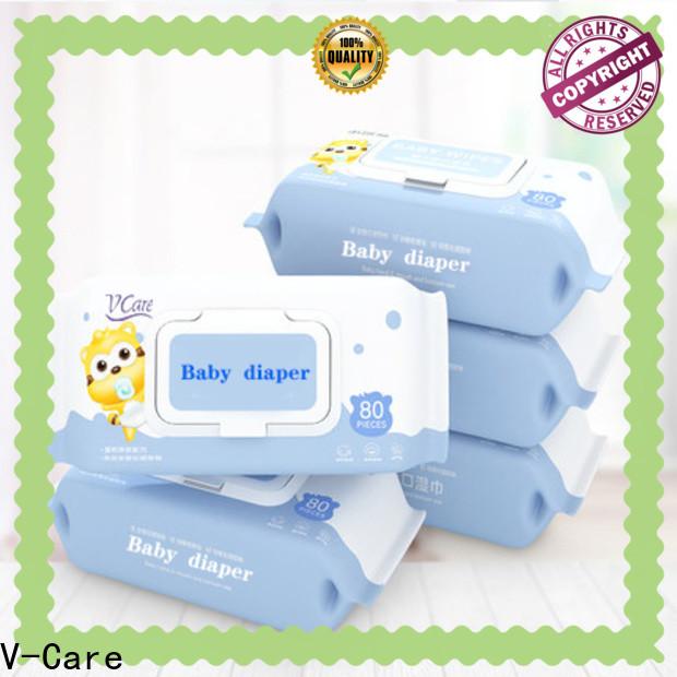 V-Care wet tissue paper suppliers for men