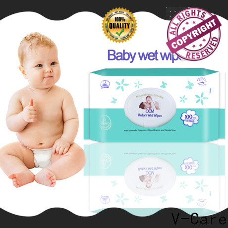 V-Care new cheap wet wipes suppliers for baby