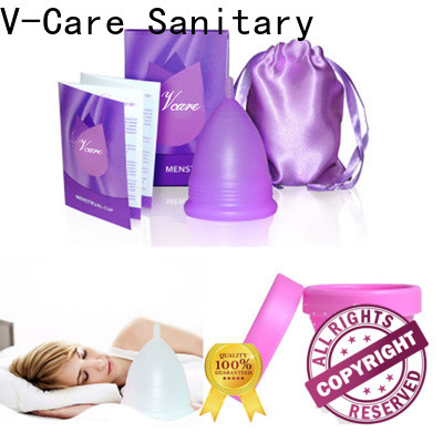 V-Care good selling top menstrual cup manufacturers for business
