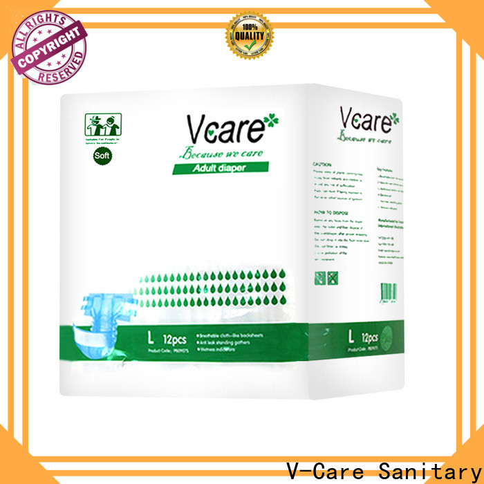 V-Care top rated adult diapers factory for sale