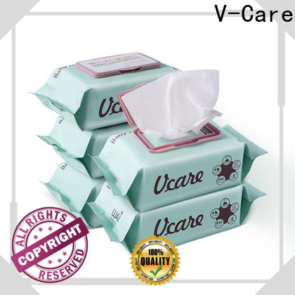V-Care oem water wet wipes factory for adult