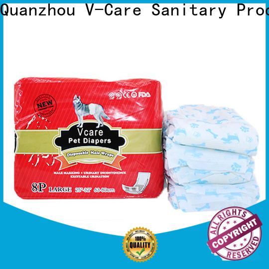 custom pet diaper factory for dogs