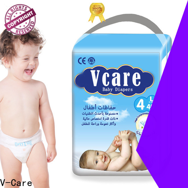 V-Care top baby nappies factory for sleeping
