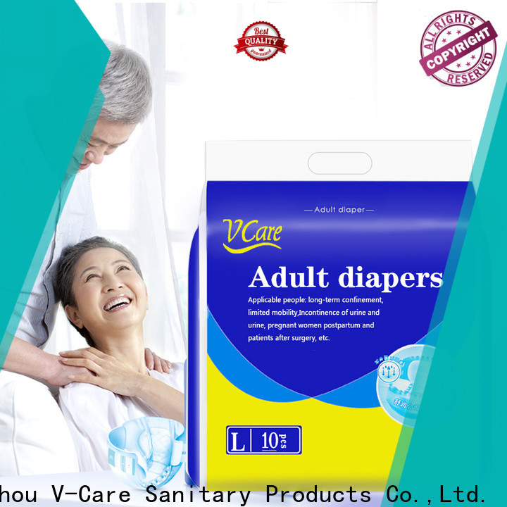 V-Care latest adult diaper with custom services for men