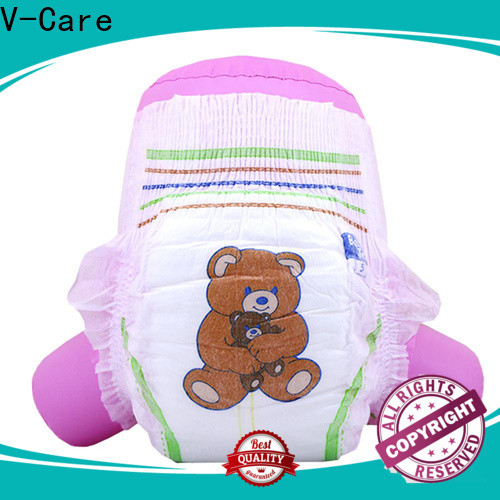 V-Care cheap baby diapers factory for children